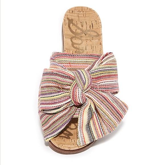 390d954ccab56  Sam Edelman  Henna Multi Color Slides Sandals 8. M 5af8e1e446aa7cee65212ef6